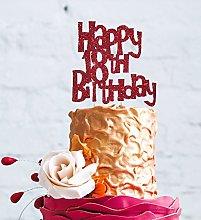 LissieLou Happy 18th Birthday Fun Style Cake