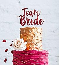 LissieLou Team Bride Hen Party Cake Topper - Bride