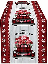 Litale Valentine'S Day Tablecloth -Polyester
