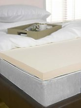 "Littens 1"" (25mm) Small Double Bed Size Visco"