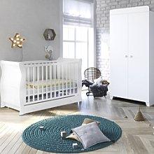 Little Acorns Chelmsford Sleigh Cot Bed 3 Piece