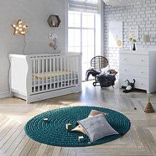 Little Acorns Chelmsford Sleigh Cot Bed 4 Piece