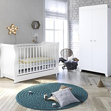 Little Acorns Chelmsford Sleigh Cot Bed and