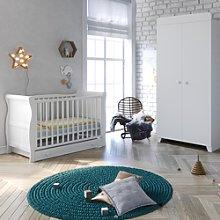 Little Acorns Sleigh Cot 3 Piece Nursery Furniture