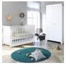 Little Acorns Sleigh Cot Bed 3 Piece Nursery