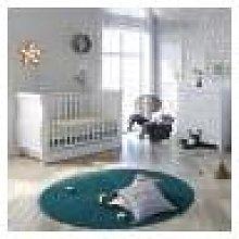 Little Acorns Sleigh Cot Bed 4 Piece Nursery