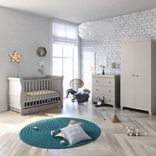 Little Acorns Sleigh Cot Bed 6 Piece Nursery