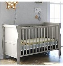 Little Acorns Sleigh Cotbed (Exc Draw)