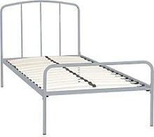 little home at John Lewis Alpha Metal Bed Frame,