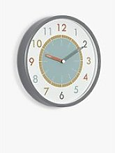 Little Stackers Tell the Time Wall Clock, Multi