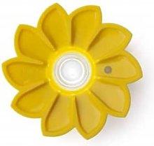 Little Sun - Yellow Sun Flower Solar Lamp - Yellow