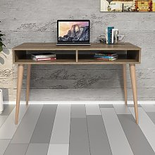 Littlefield Desk Norden Home Top Colour: Walnut