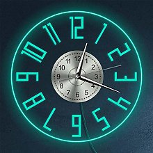 LittleNUM Transparent acrylic wall clock with