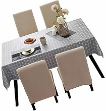 litulituhallo Rectangle Tablecloth Wipe Clean Pvc