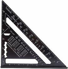 Litzee - 7 Inch Metric / Imperial Aluminum Square