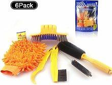 LITZEE Bike Brush Kit, Bike Cleaning Brush, Clean