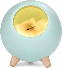 Litzee - Children Night Light Cat Lamp, LED Cat