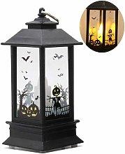 Litzee - Decorative Halloween Lamp LED Bulb Flame