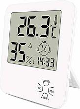 LITZEE Mini Digital Indoor Thermometer Hygrometer