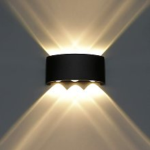 Litzee - Modern Wall Lamp LED Wall Light Up and