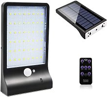 Litzee - Outdoor Solar Lamp 48 LED Motion Sensor