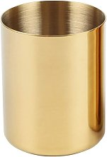 Litzee - Pencil Cup Holder Desk Organizer, Gold
