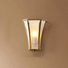 LIUBINGER Wall Light Wall Lighting Glass Lampshade