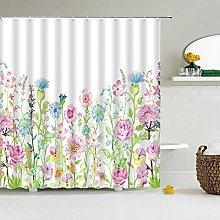 Liufengyun Flower Bird Prints Simple Shower