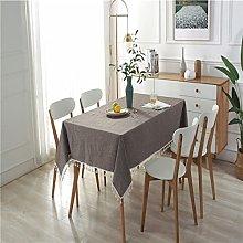 LIUJIU Heavy Duty Cotton Linen Tablecloth for