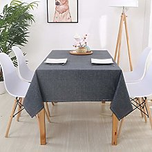 LIUJIU Heavy Tablecloth for Rectangle Table Wipe