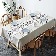 LIUJIU Home Direct Rectangular Oilcloth PVC Wipe