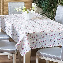 LIUJIU Large Rectangular Oilcloth Wipe Clean