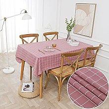 LIUJIU Organic Cotton Tablecloth for Dining