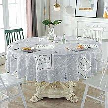 LIUJIU Tablecloth for Rectangle Table Wipe Clean
