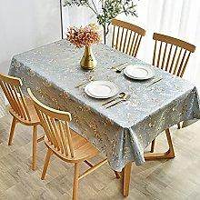 LIUJIU tablecloth, wipe clean table cover,