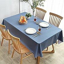 LIUJIU Vinyl Rectangular Tablecloth- PVC