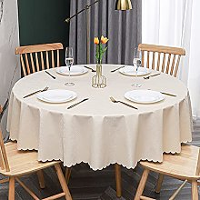 LIUJIU Vinyl Tablecloth | Suitable For Up To A Six