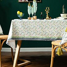 LIUJUAN Cloth For Dining Retro Ethnic Lace