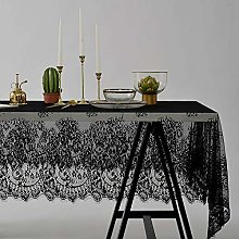 LIUJUAN Cloth For Dining White Lace Tablecloth