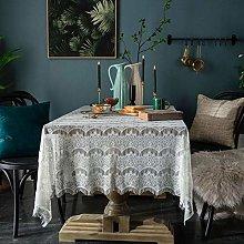 LIUJUAN Dust Proof Table Retro Napkin Coffee Table