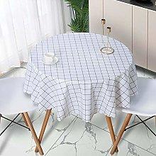 LIUJUAN Table Cloth Round Table Tablecloth