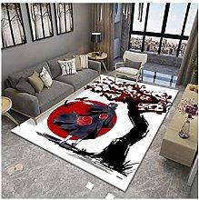 LIUNA Non-slip Printing Flannel Carpet Modern