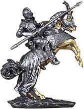 LIUSHI Knight Statue,Statues Knight Male Sculpture