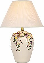 liushop Bedside Table Lamp European Retro Bedroom