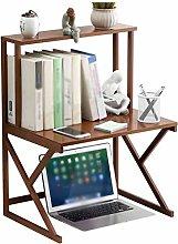 liushop Bookcase Desktop Bookcase Desktop Double