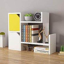liushop Bookcase Simple Small Bookshelf Desk