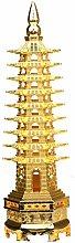 liushop Buddha statue Alloy Feng Shui Education