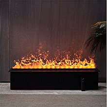 liushop Electric Fireplace 39 Inches Recessed