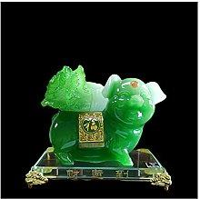 liushop Meditation Statue Chinese Zodiac Pig