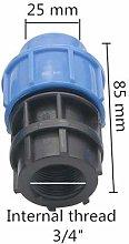 liutao Pipe Fittings 5 Pcs Out Diameter 20/25/32mm